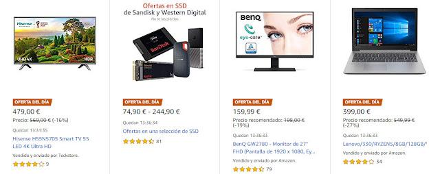 Chollos 14_01 Amazon Selección de las mejores Ofertas del Día