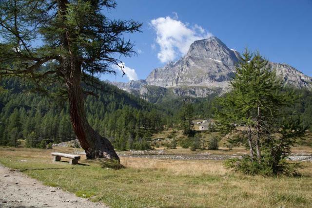 Alpe Veglia con il monte Leone