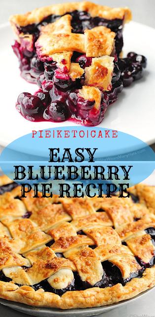 EASY BLUEBERRY PIE RECIPE|BEST RECIPE