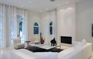 Diseño de sala elegante