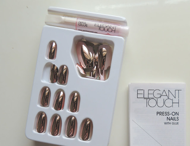 Clicks and Dischem Beauty Haul || Elegant Touch Press-On Nails in Rose Gold Constellation || Jane Wonder