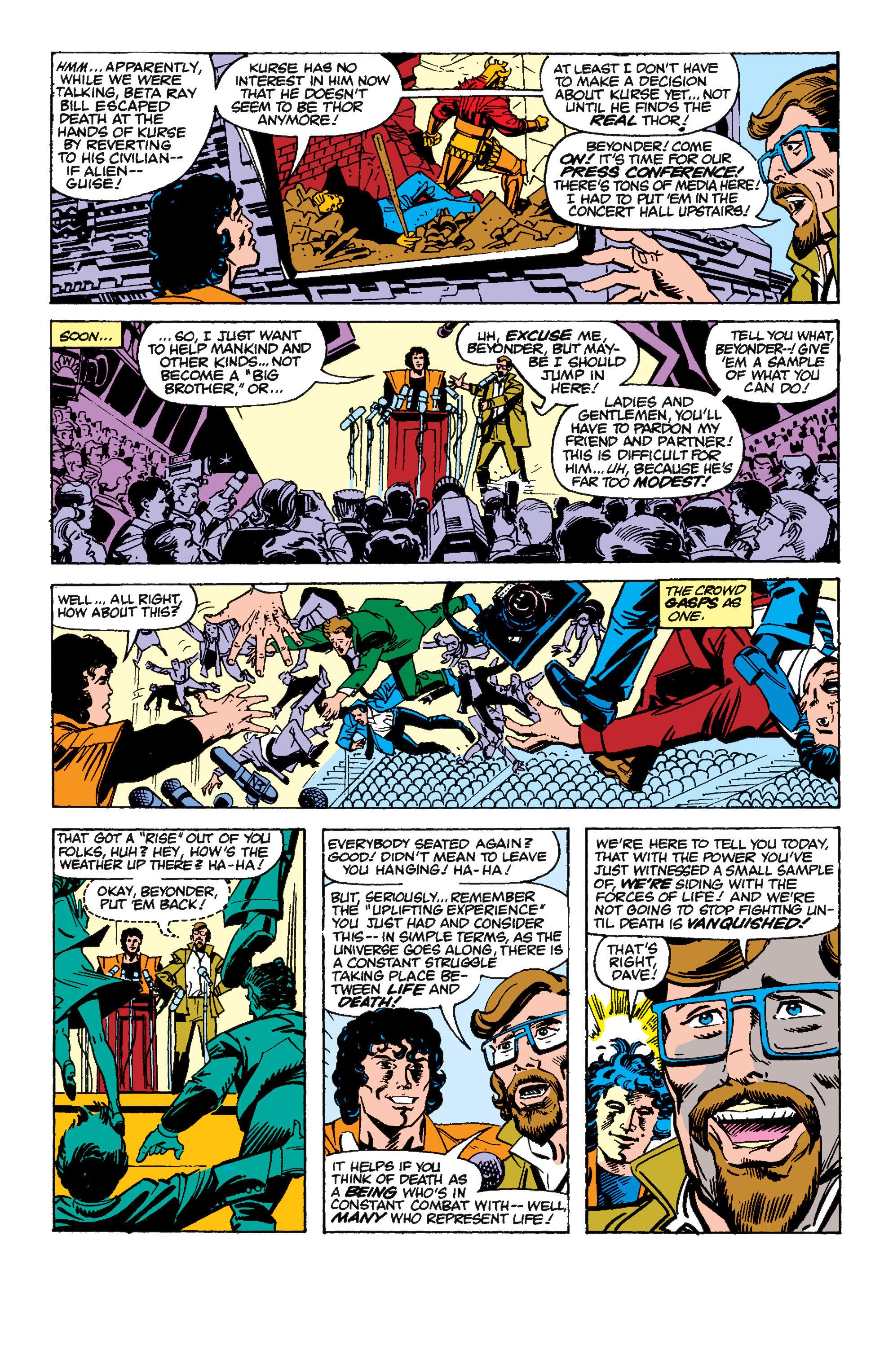Read online Secret Wars II comic -  Issue #6 - 18