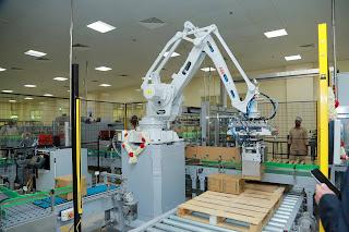 Dabur International inaugurates its first ever robotics for plant operations