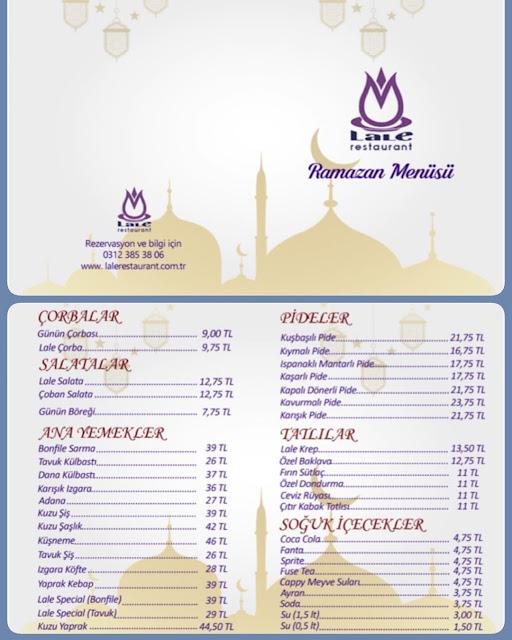 ostim lale restaurant iftar menüsü lale restaurant ostim iftar mekanları ostim iftar menüsü batıkent iftar mekanları