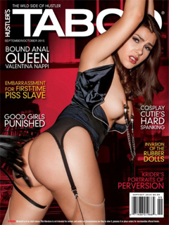 Revista Hustler´s Taboo USA-Septiembre Octubre 2015 PDF Digital