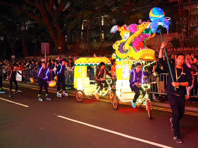 Chinese New Year Parade 2017, Tsim Sha Tsui, Hong Kong