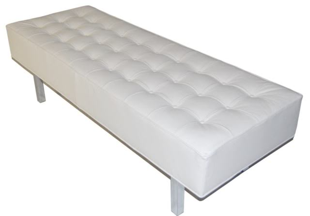 refresheddesigns.: spotlight on...tufted benches