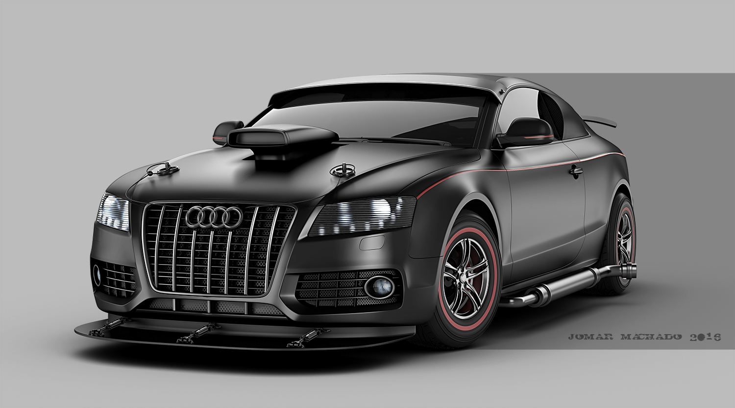 3d Works Audi Hot Rod