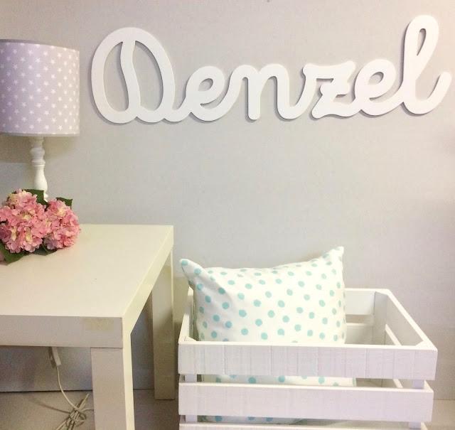 letras para la pared , decoración infantil , personalizado