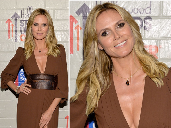 Heidi Klum - Look - Hollywood Stands Up To Cancer 2014