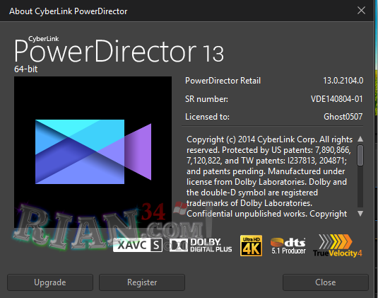 Cyberlink powerdirector ultimate v13 0 full patch tsarsoft for Powerdirector menu templates