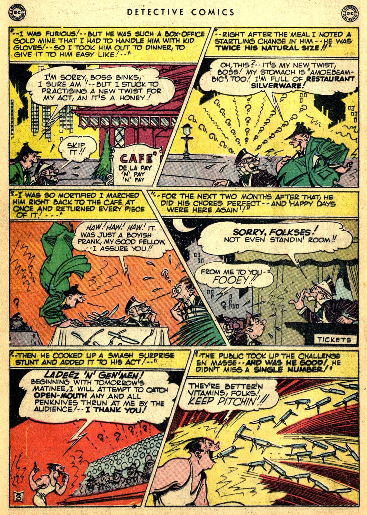 Read online Detective Comics (1937) comic -  Issue #117 - 34