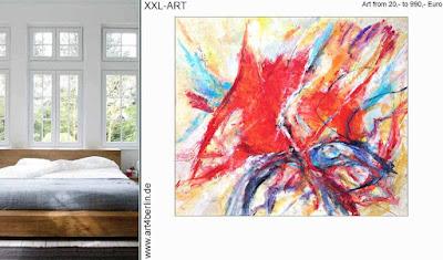Berlin-Galerie präsentiert moderne  Acrylmalerei, abstrakte  Ölgemälde zu bezahlbaren Preisen!