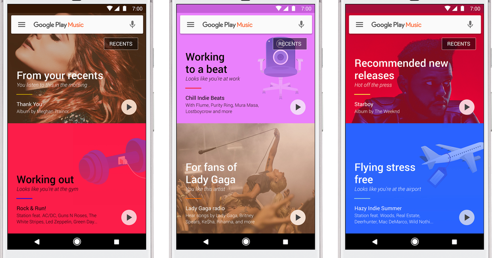 Google Play Music gets a 'Refreshed Look' - AndroGuider