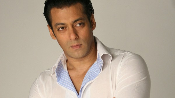 Hero Salman Khan in White Shirt HD Wallpapers
