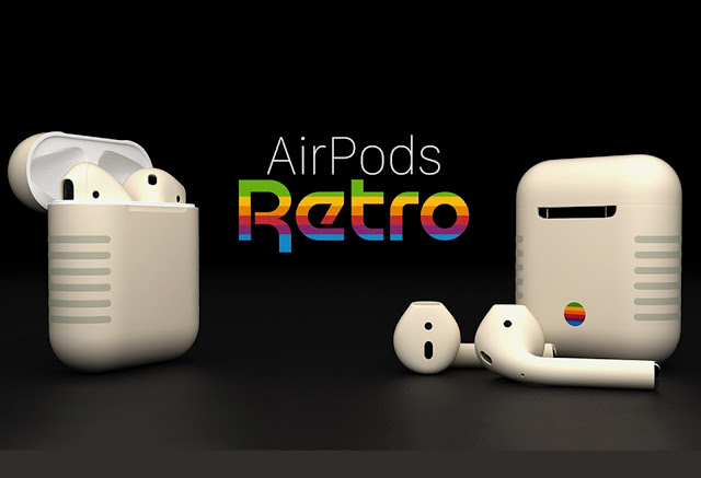 ColorWare Unveils Apple IIe Inspired 'AirPods Retro'