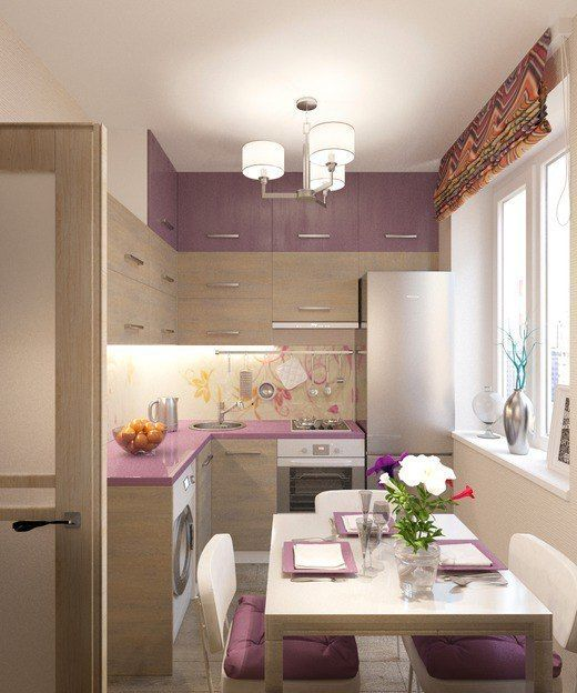 27 Brilliant Small Kitchen Design Ideas: Brilliant Purple Kitchen Cabinet Designs To Transform Your Kitchen Without Paint