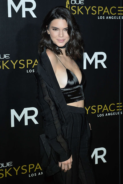 Kendall Jenner – Launch Of OUE Skyspace in Los Angeles