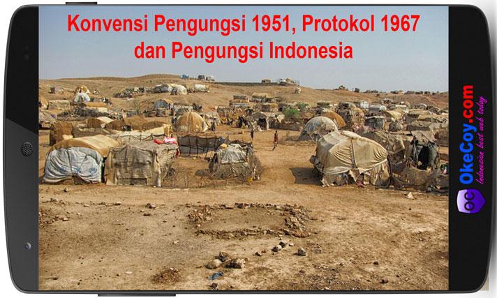 konvensi pengungsi 1951, protokol 1967 dan pengungsi indonesia