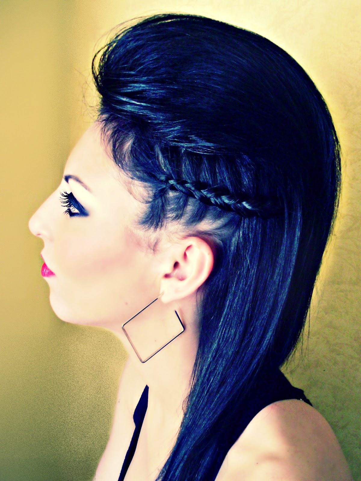 Ideas de estilo para peinados tupe Galería de tendencias de coloración del cabello - CHARI-BELLEZA: PEINADO EN TUPÉ