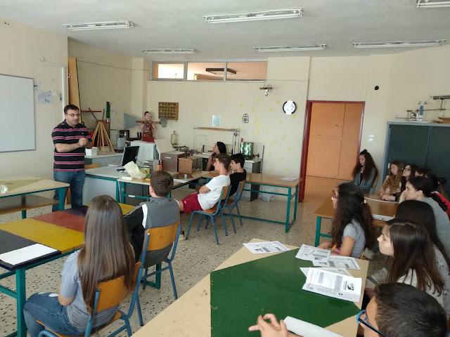Η Γ' τάξη του 3ου Γυμνασίου Άργους επισκέφθηκε το 1ο ΕΠΑ.Λ. και στο 1ο Ε.Κ. Άργους