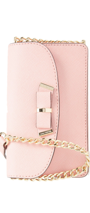 MICHAEL Michael Kors 'Small Kiera' Saffiano Leather Crossbody Bag pink