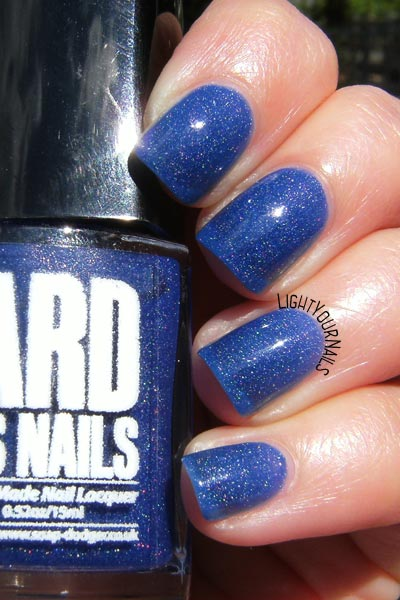 Smalto Ard As Nails Bachelor's Button indie nail polish
