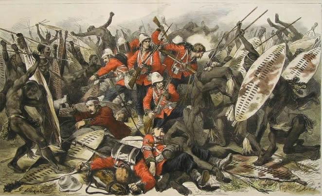 British Empire in Southern Africa - Zulu War At Bay the Battle of Isandula (Isandhlwana)