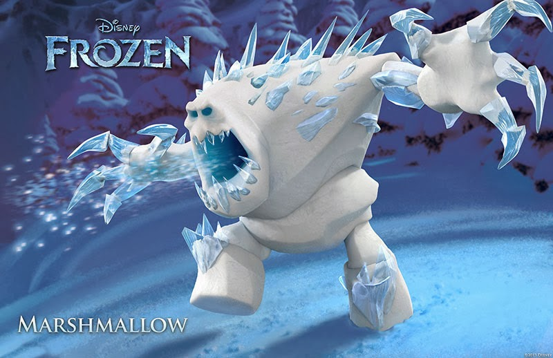 Marshmallow Snow Monster Frozen animatedfilmreviews.filminspector.com