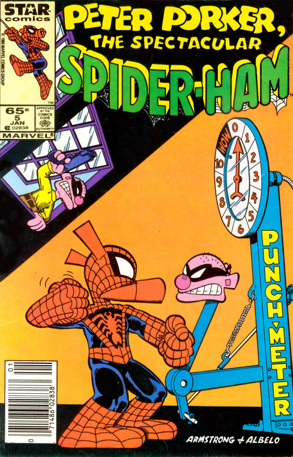 Peter Porker, The Spectacular Spider-Ham issue 5 - Page 1