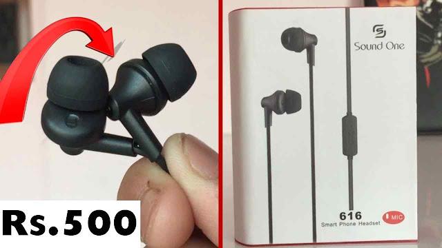 best earphones under 500 rupees in india