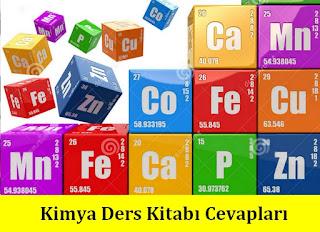 11. Sınıf Dikey Yayınları Kimya Ders Kitabı Cevapları
