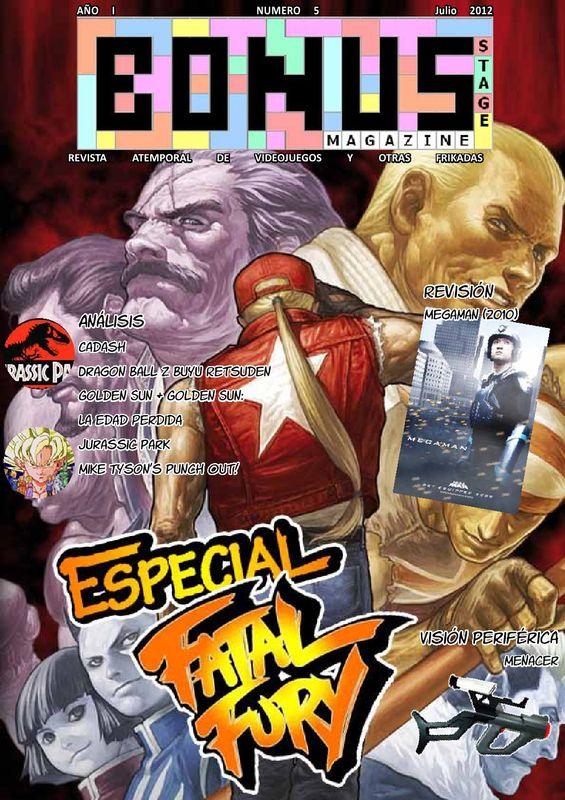 Bonus Stage Magazine #05 Especial Fatal Fury (05)