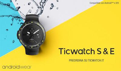 Smartwatch Android economico funzionale Ticwatch Express e Sport: RECENSIONE
