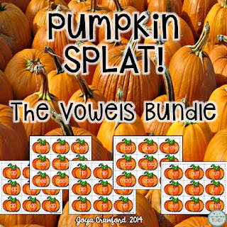 vowels, long vowels, short vowels, fall, pumpkins, centers, stations, games, first grade, second grade