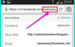 Cara Mengganti atau Membuat Username Facebook