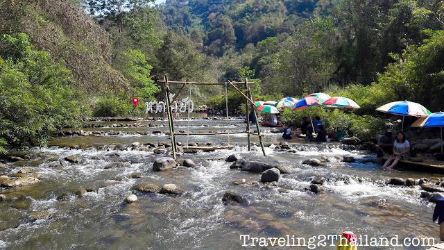 Pua River in Pua, Nan - Thailand