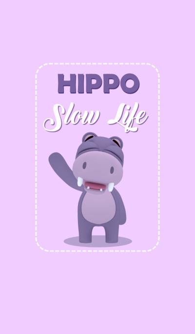 Hippo Slow Life 01