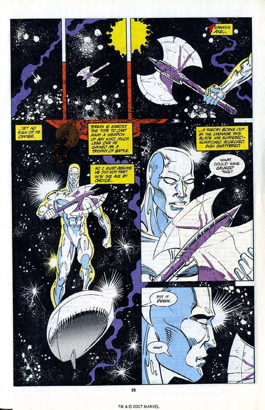 Read online Silver Surfer (1987) comic -  Issue #80 - 27