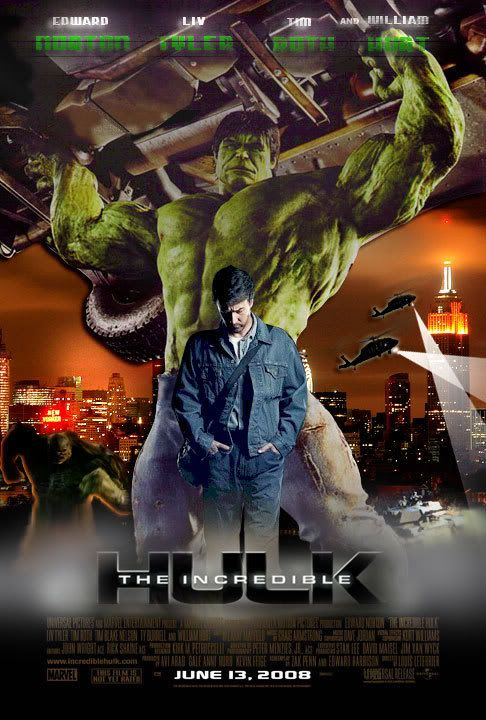 The Incredible Hulk (2008) Dual Audio Hindi 350MB BluRay 480p