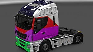 Mix Colors skin for Iveco Hi-Way