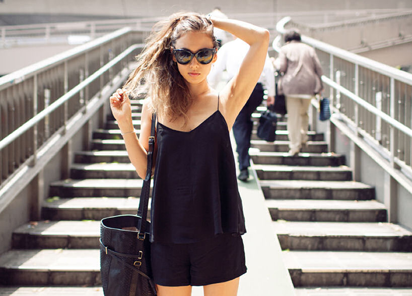 black cami, cami, camisole, how to wear cami, styling camisole, fashion, silk camisole, cami street style