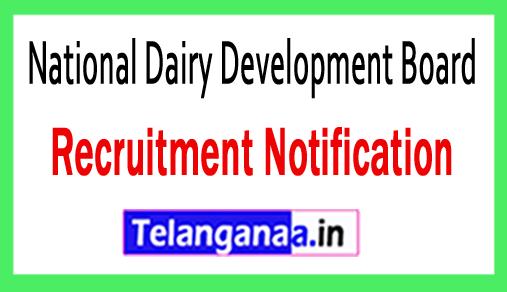National Dairy Development Board NDDB Recruitment