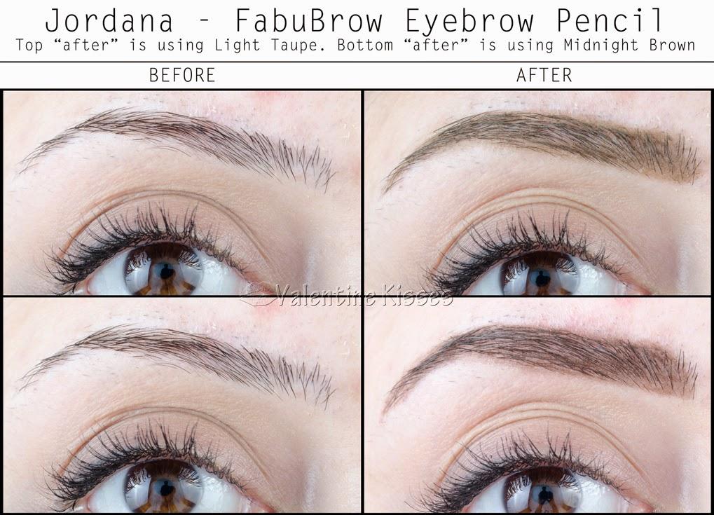 Valentine Kisses: Jordana FabuBrow Eyebrow Pencil - 3 new ...
