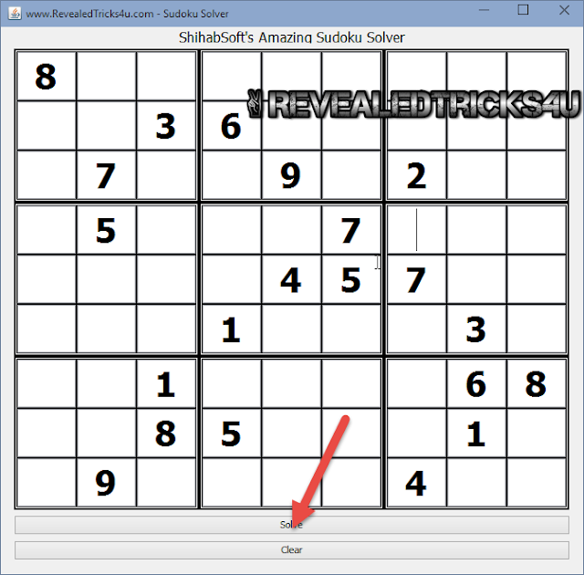 Amazing Blazing Fast Sudoku Solver for Windows,Linux,Mac,etc