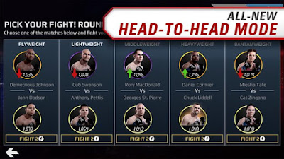 Download EA SPORTS UFC® MOD APK v1.9.3097721 Full Hack Android Original Version Terbaru 2017 Gratis