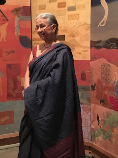 Nilima Sheikh, the first artist who got the curator's nod for the fourth edition of Kochi-Muziris Biennale which begins on December 12, 2018, Art Scene India