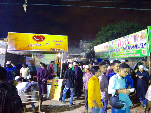 Ramzan Food Stalls, Bilal Mosque, near Jayadeva Hospital
