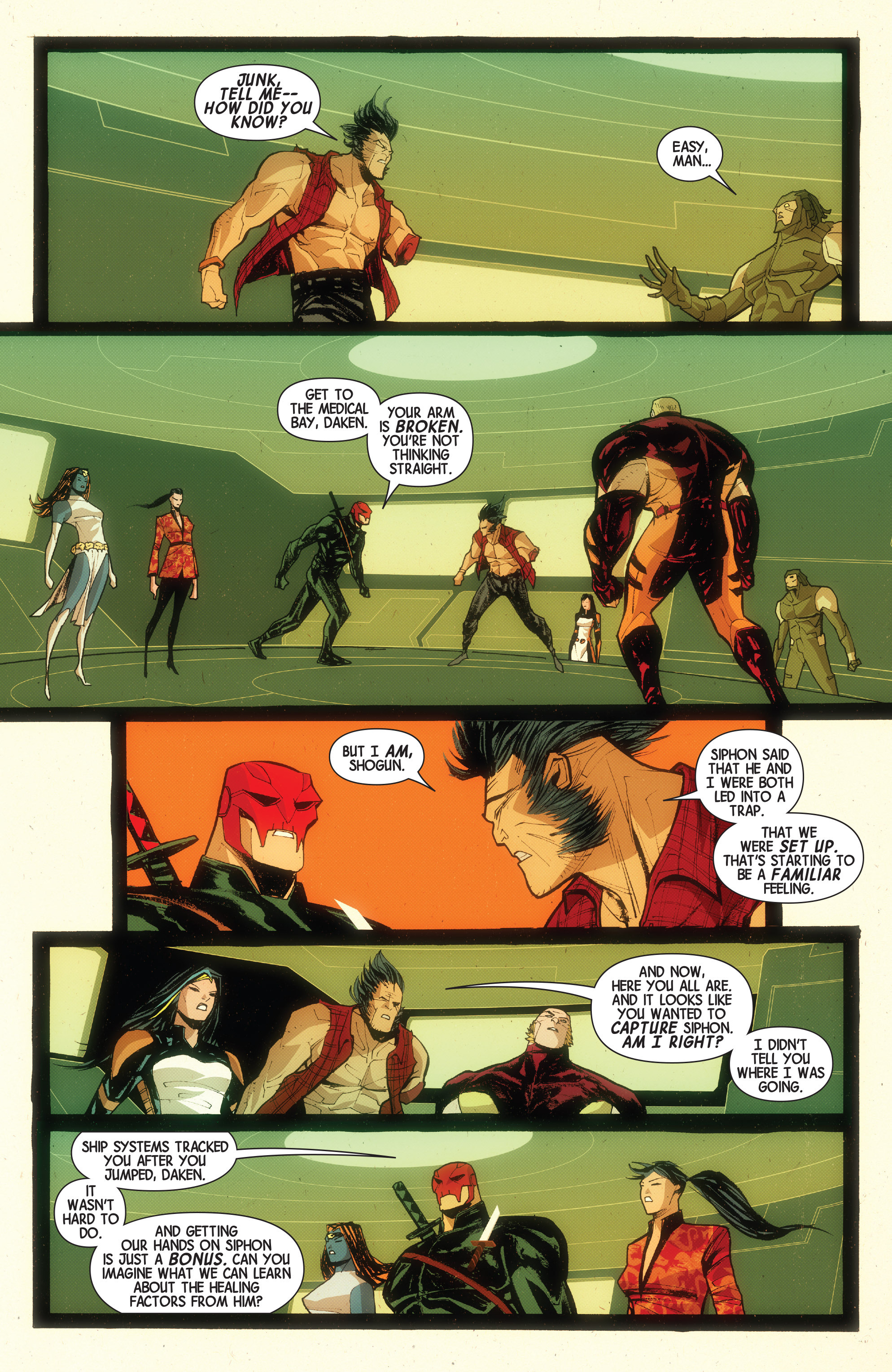 Read online Wolverines comic -  Issue #15 - 18
