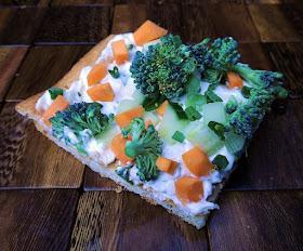Ranch Veggie Pizza Bobbi S Kozy Kitchen